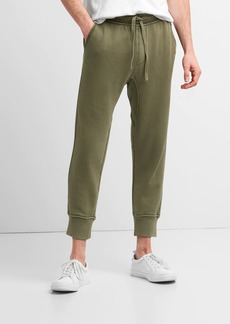 Gap Cropped Joggers in French Terry