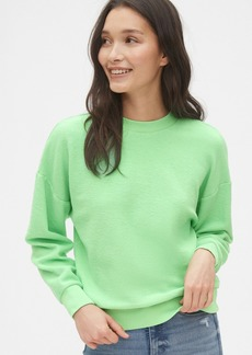 Gap Cropped Sweatshirt in French Terry