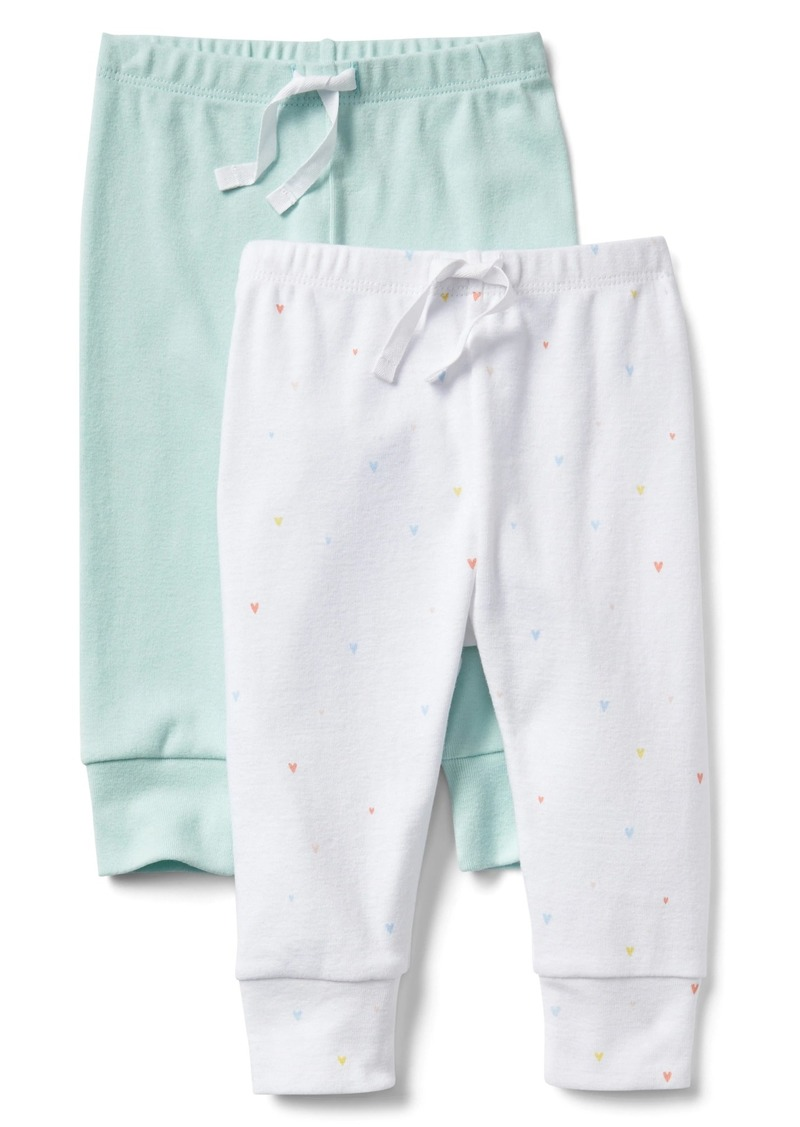 dff4a282d345 Gap Cuddle   Play Pull-On Pants (2-Pack)