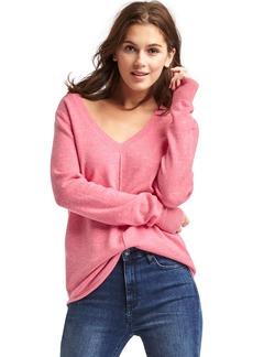 Gap Deep V-neck long sleeve sweater