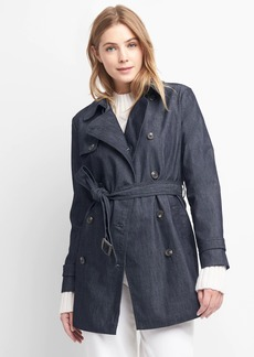 Gap Denim trench coat