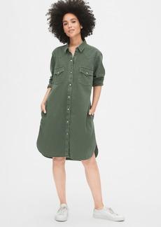 Gap Denim Western Shirtdress