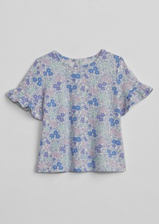 Gap Dot Ruffle-Sleeve T-Shirt