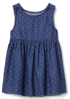 Gap Dotty denim tank dress
