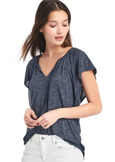 Gap Drapey flutter sleeve top
