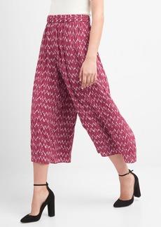 Gap Drapey print culottes