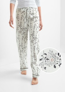 Gap DreamWell print sleep pants