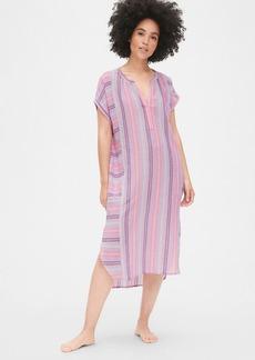 caf50ef81bc Gap Dreamwell Stripe Midi Shirtdress