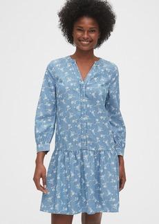 Gap Drop-Waist Dress in TENCEL&#153