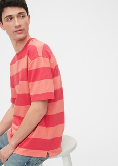 Gap Easy Heavyweight Stripe T-Shirt