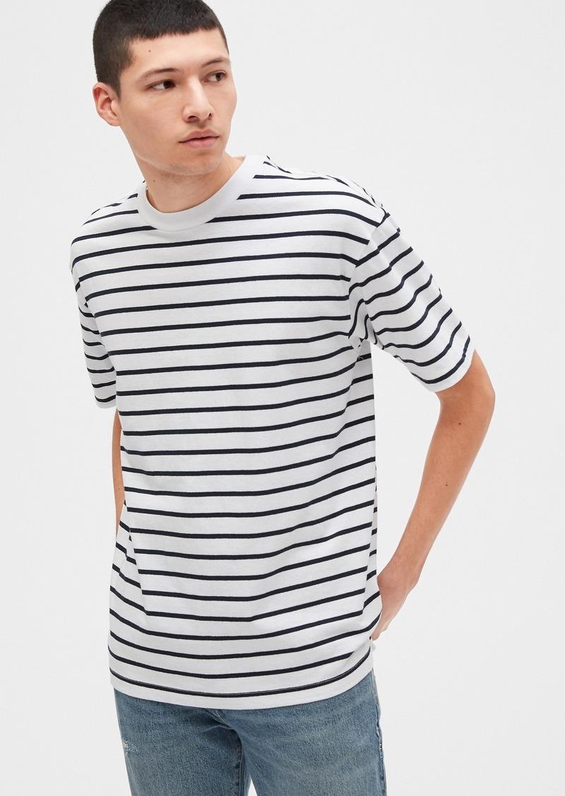 Gap Easy Heavyweight Stripe T-Shirt