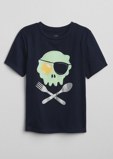 Gap Egg Skull Graphic T-Shirt