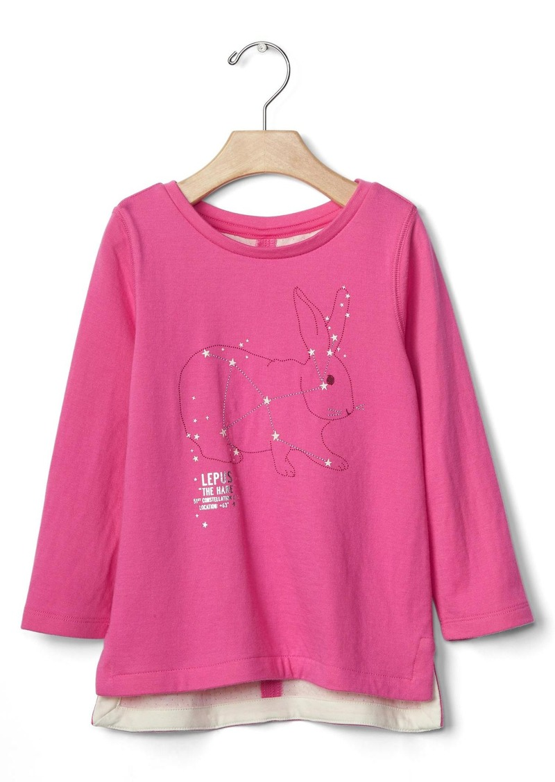 Gap Embellished star gazing tee