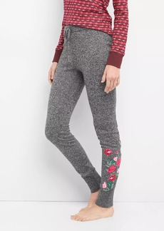 Gap Embroidered marle sweater leggings