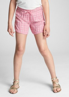 Gap Embroidered Tassel Dolphin Shorts
