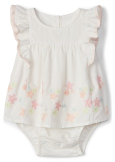 Gap Embroidery Flutter Bodysuit