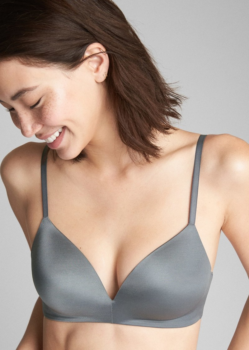 5e8cb64df9 Gap Everyday Smooth Wireless Bra