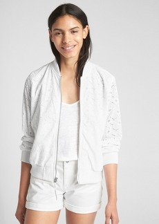 Gap Eyelet Bomber Jacket