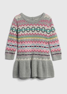 Gap Fair Isle Peplum Sweater