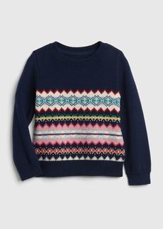 Gap Fair Isle Pullover Sweater