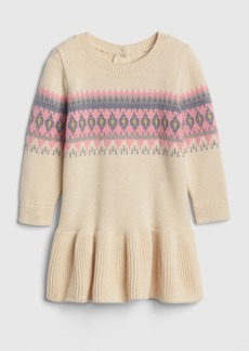Gap Fair Isle Sweater Dress
