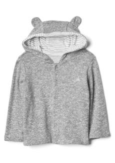 Gap Favorite reversible bear hoodie