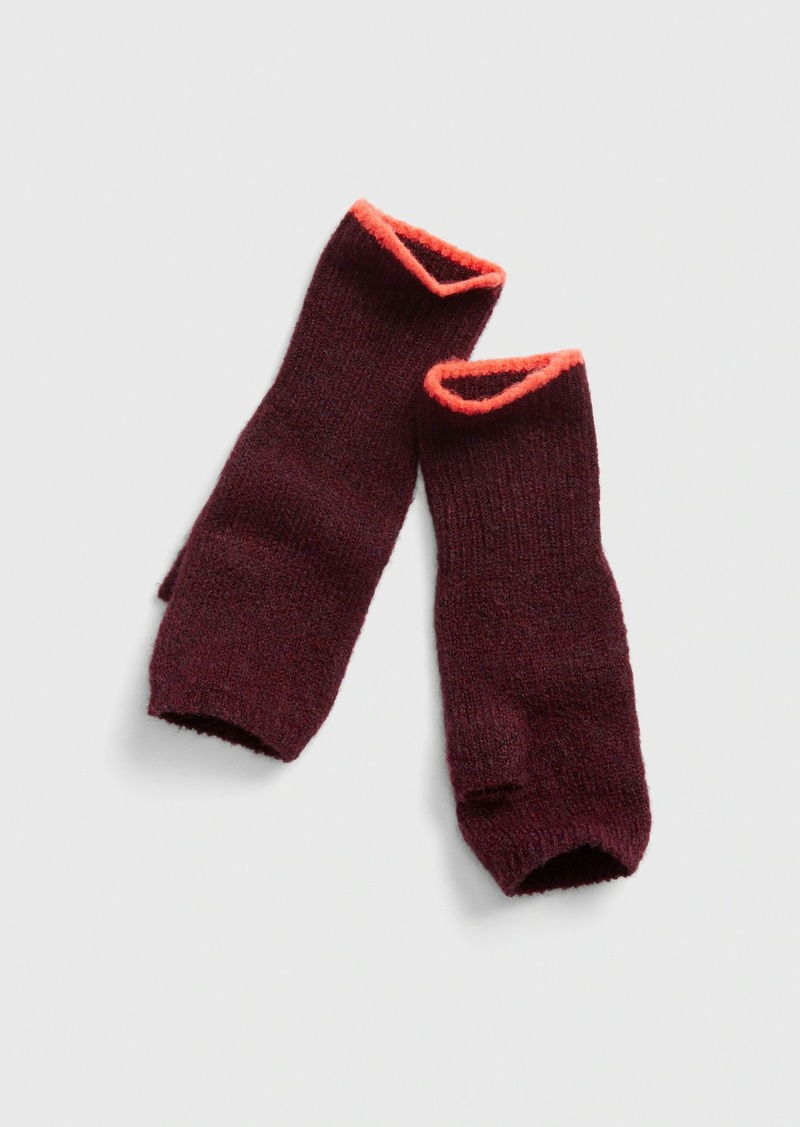 Gap Fingerless Gloves