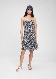Gap Fit & Flare Cami Print Dress