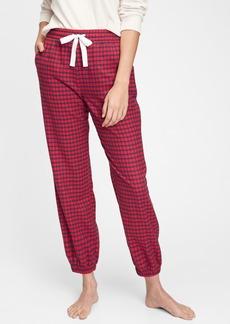 Gap Adult Flannel Pajama Joggers