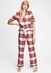 Gap Flannel PJ Set