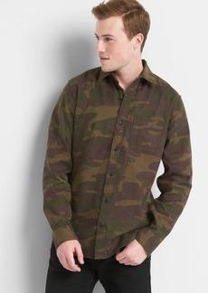 Gap Flannel print standard fit shirt