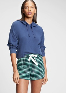 Gap Flannel Pajama Shorts