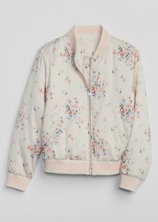 Gap Floral Bomber Jacket