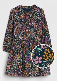 Gap Floral Button-Front Dress