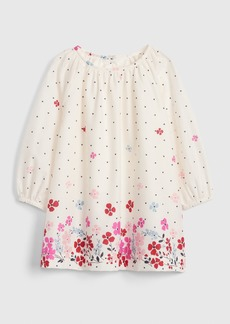 Gap Floral Dot Dress