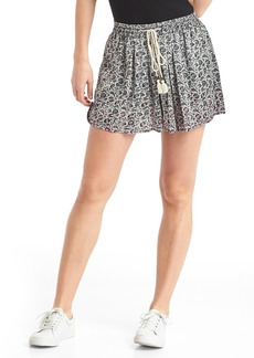 Gap Floral drapey shorts