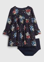 Gap Floral Empire-Waist Dress