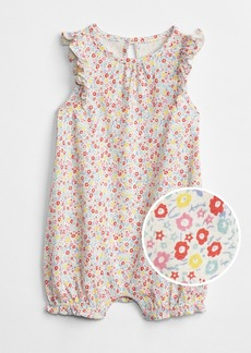 Gap Floral Flutter Shorty One-Piece