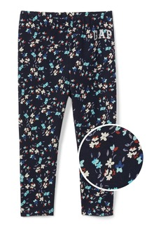 Gap Floral logo soft terry leggings