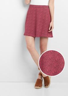 Gap Floral print circle skirt