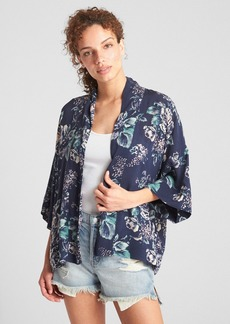 Gap Floral Print Topper Jacket