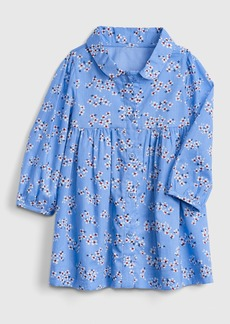 Gap Floral Shirtdress