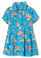Gap Floral short sleeve shirtdress