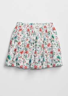 Gap Floral Tier Skirt