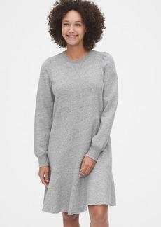 Gap Flounce Sweatshirt Dress