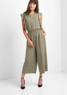 Gap Flutter sleeve culotte jumpsuit