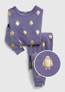 Gap Foil Penguin PJ Set