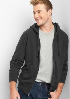 Gap French terry zip hoodie