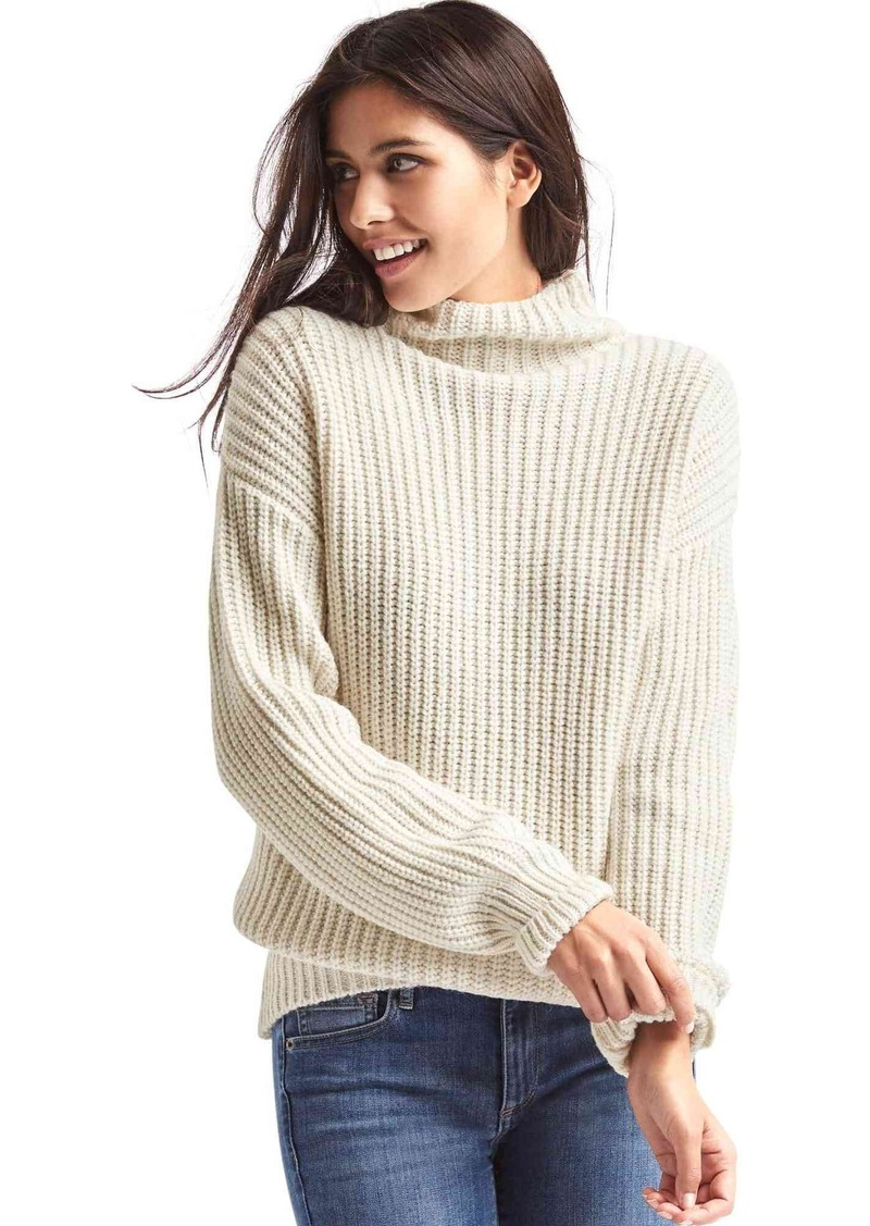 Gap Funnel neck shaker sweater | Sweaters - Shop It To Me