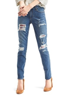 Gap + Pendleton AUTHENTIC 1969 destructed real straight jeans